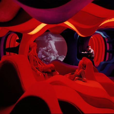 »Phantasy Landscape«, Visiona 2, IMM Köln Möbelmesse / Cologne Furniture Fair, 1970 © Panton Design, Basel