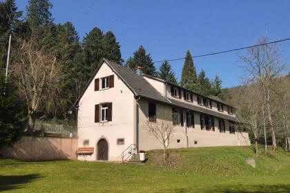 Centre d'accueil du Club Vosgien Holzmacheracker, Wintzfelden, Haut-Rhin, Alsace