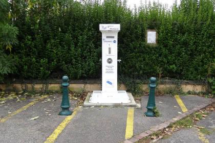Aire camping-car, Rouffach, Pays de Rouffach, Vignobles et Châteaux, Haut-Rhin, Alsace