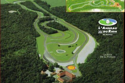 Anneau du Rhin, Biltzheim, Haut-Rhin, Alsace