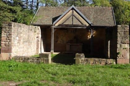 Vignoble et spiritualité, Pays de Rouffach, Vignobles et Châteaux, Haut-Rhin, Alsace (Pragma-SCF)