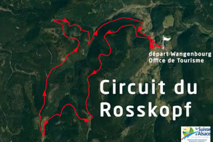 Vue satellite du circuit du Rosskopf