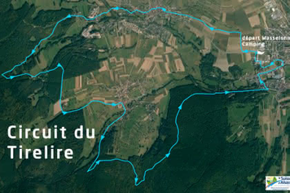 Vue satellite du circuit du Tirelire