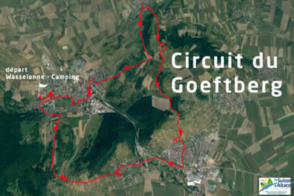 Vue satellite du circuit du Goeftberg