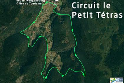 Vue satellite du circuit du Petit Tétras