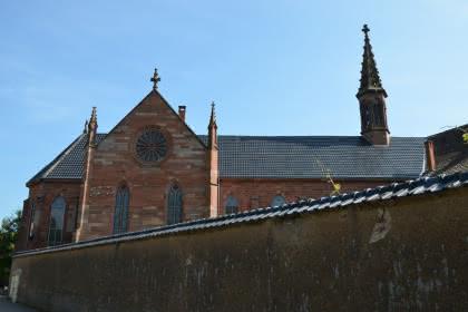 Vue extérieure de la chapelle