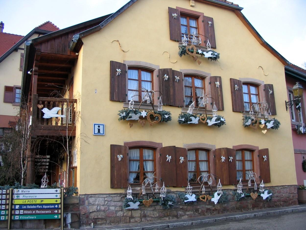Le bureau d'accueil de l'Office de Tourisme