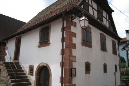 Maison du village d'Offwiller, Alsace
