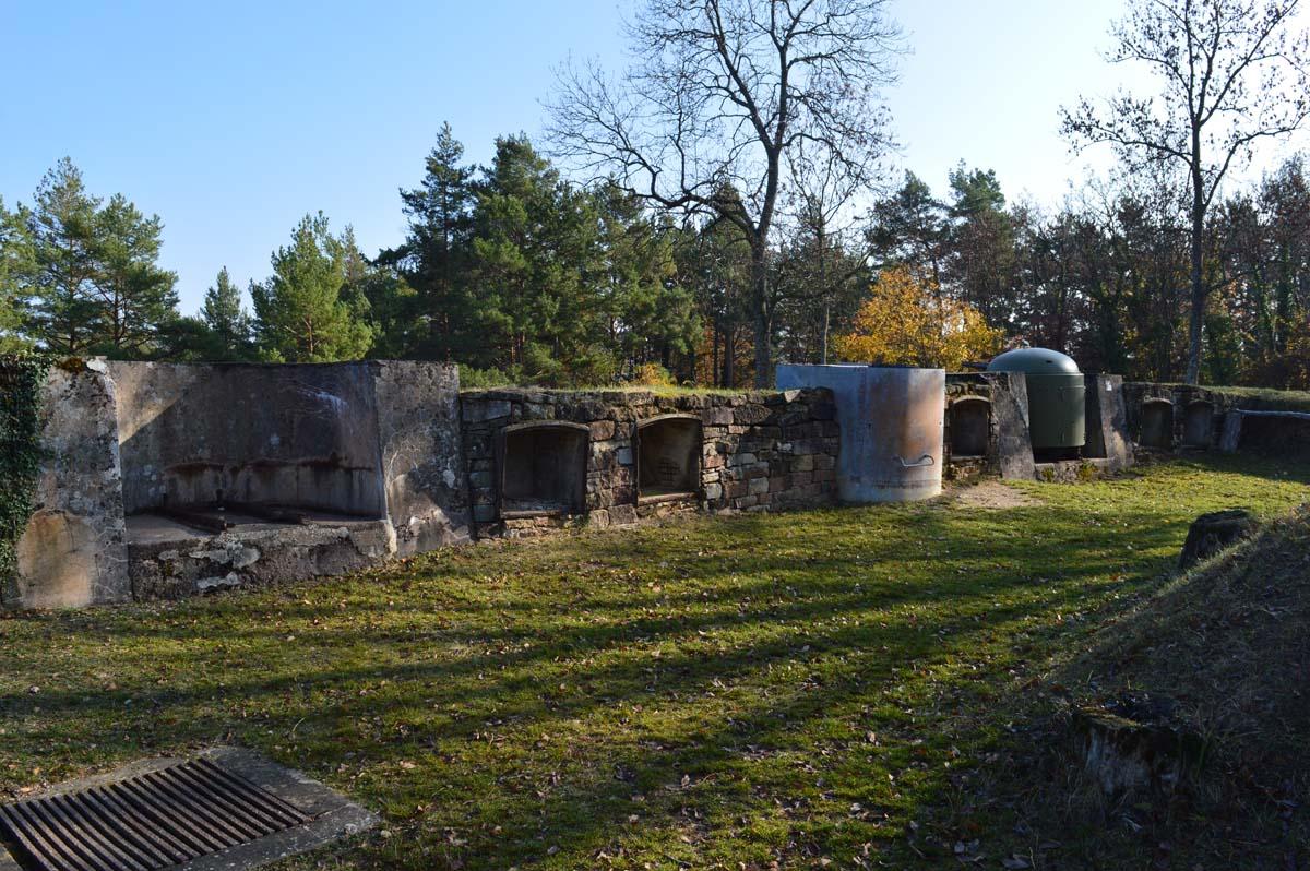 Fort de Mutzig - batterie de canon