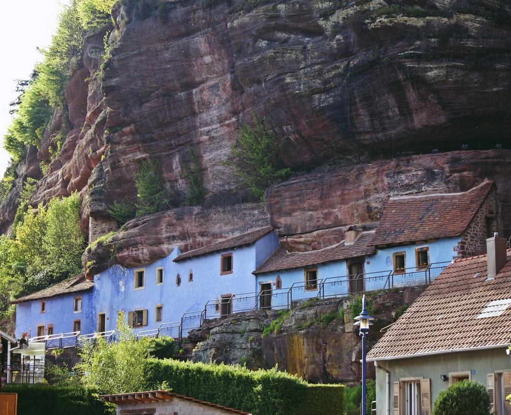 Maison des rochers, Graufhtal