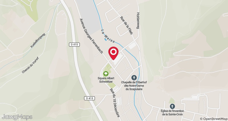 Map Of Kaysersberg France.Weekly Market Visit Alsace